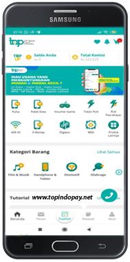 Aplikasi Android TOPINDOPAY