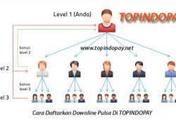 Cara Daftarkan Downline Pulsa Di TOPINDOPAY